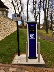 Homelands Welcomes Electric Charging Points