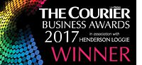 Winners at Courier Business Awards 2017